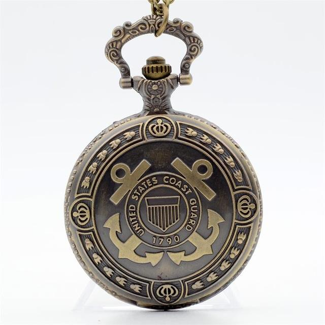 Never Forget  Brave Soldier Quartz Pocket Watch - LoveLuve