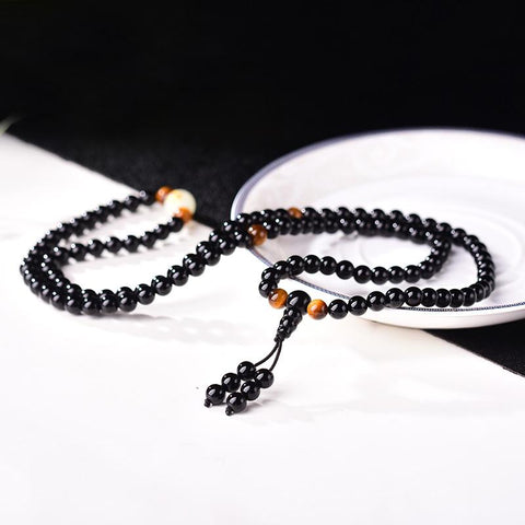 Luminous Dragon Zodiac Mala Bracelet - LoveLuve