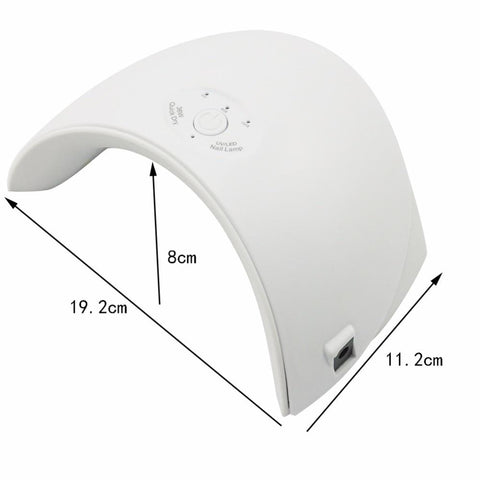 36W UV Led Lamp Nail Dryer For All Types Gel - LoveLuve