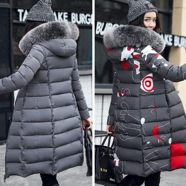 With Fur Hooded Woman Winter Jacket - LoveLuve