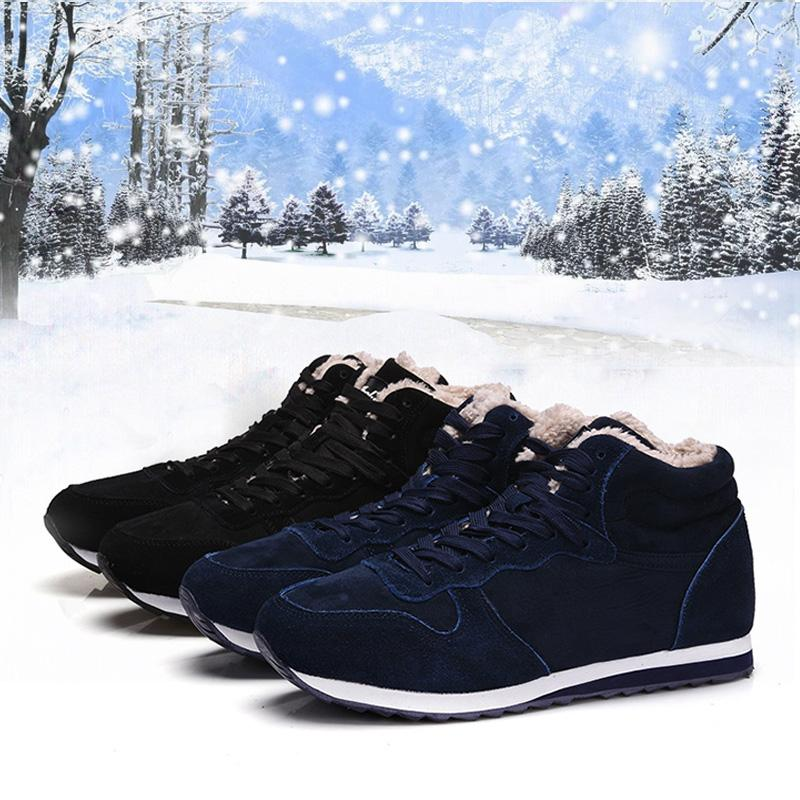 Winter Fashion Warm Ankle Women Snow Boots