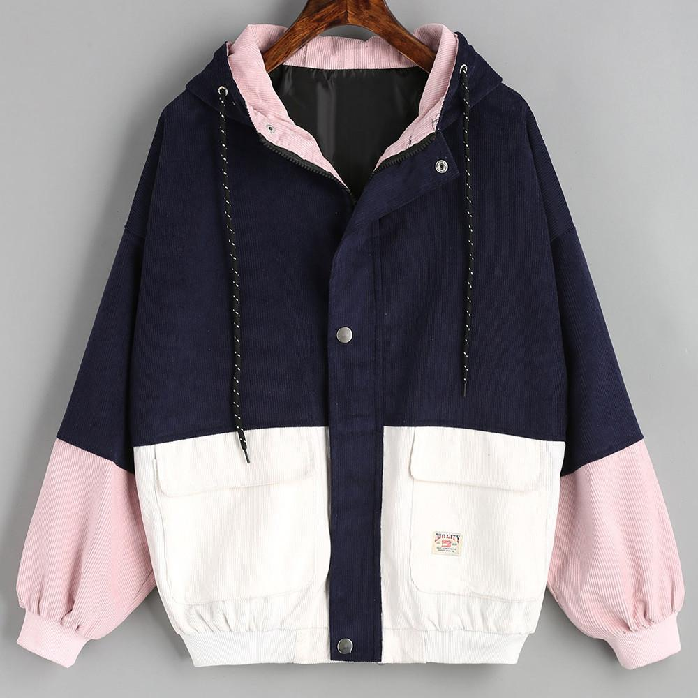 Zipper Pockets Bomber Women Jacket - LoveLuve