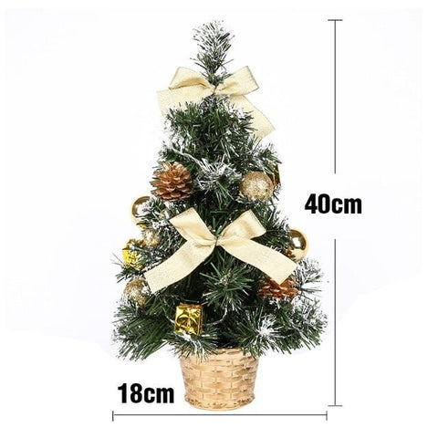 Image of Table LED Christmas Tree Xmas Nightlight Decoration Light Pine Tree Mini Christmas Tree Christmas Decoration New Year Gift