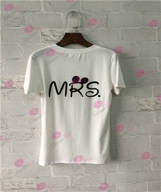 MR. & MRS. Letter T-Shirt - LoveLuve