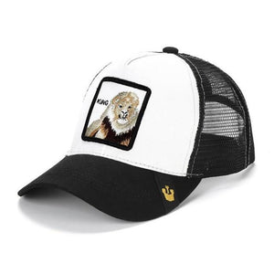 Animal Embroidery Baseball Women & Men Cap