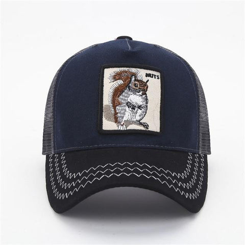 Animal Embroidery Baseball Women & Men Cap - LoveLuve