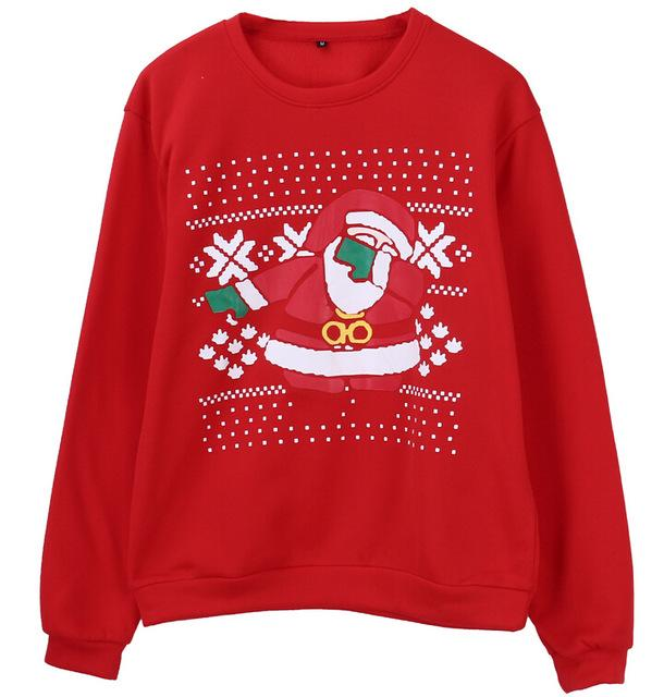 Xmas Sweaters Ugly Christmas Sweater Couple Matching Clothes Unisex Outfits for Lovers Women Men Autumn Winter NEW