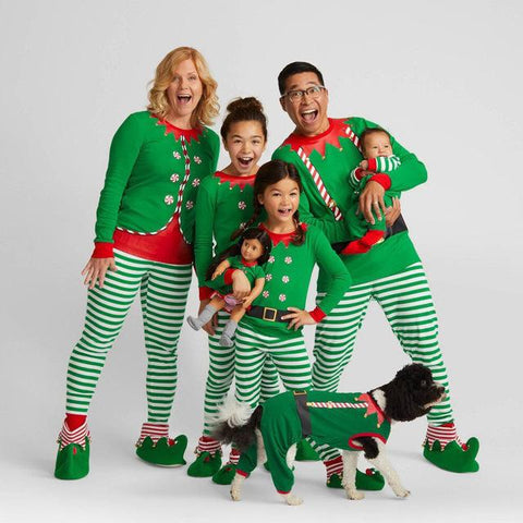 Image of Family Pajamas Christmas Set