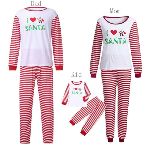 Image of Women Family PJS Matching Christmas Pajamas Set