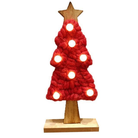 Image of LED Felt Christmas Tree - LoveLuve