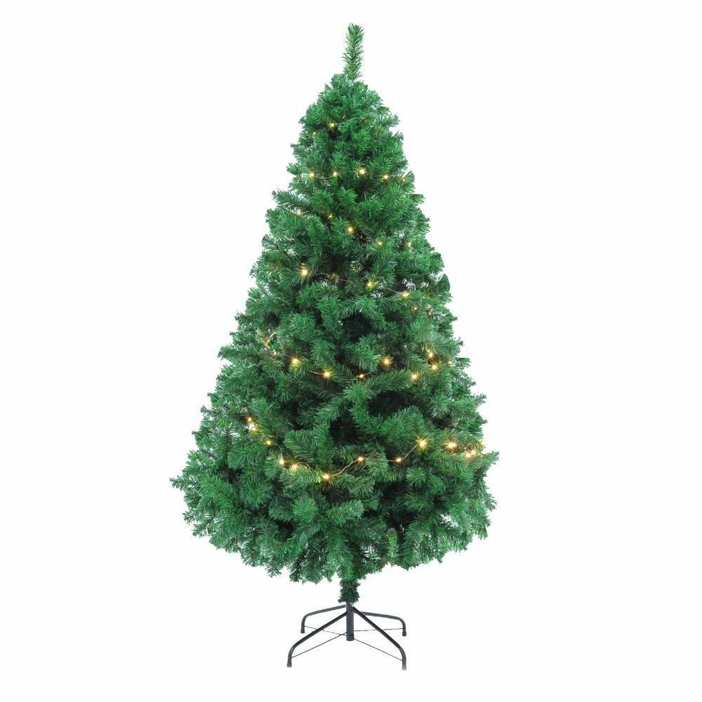 1.5/1.8/2.1M Tall Artificial Christmas Tree with LED Light - LoveLuve
