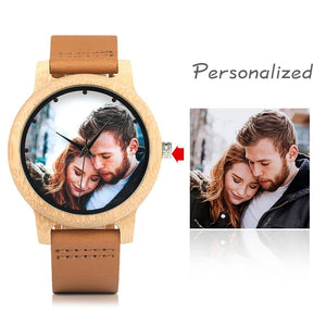 Personalized Photo Printing Creative Couple Watches