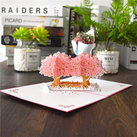 Image of 3D Pop Up Cards for Mother's Day I Love Mom Mothers day Gift Card Carnation Flowers Bouquet Greeting Card Birthday Card