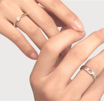Sterling Silver Matching Couple Heart Rings - LoveLuve