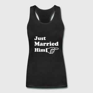 2018 Couple Matching Just Married Him Her Tank Tops