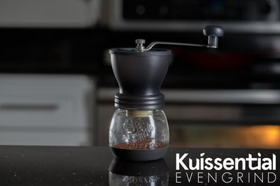 Kuissential EVENGRIND Ceramic Burr Grinder with Stabilizing Cage