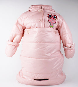 Fendi Baby Girl's Convertible Coat/Snowsuit