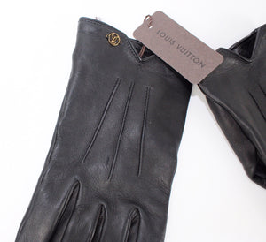 Louis Vuitton Leather V Gloves