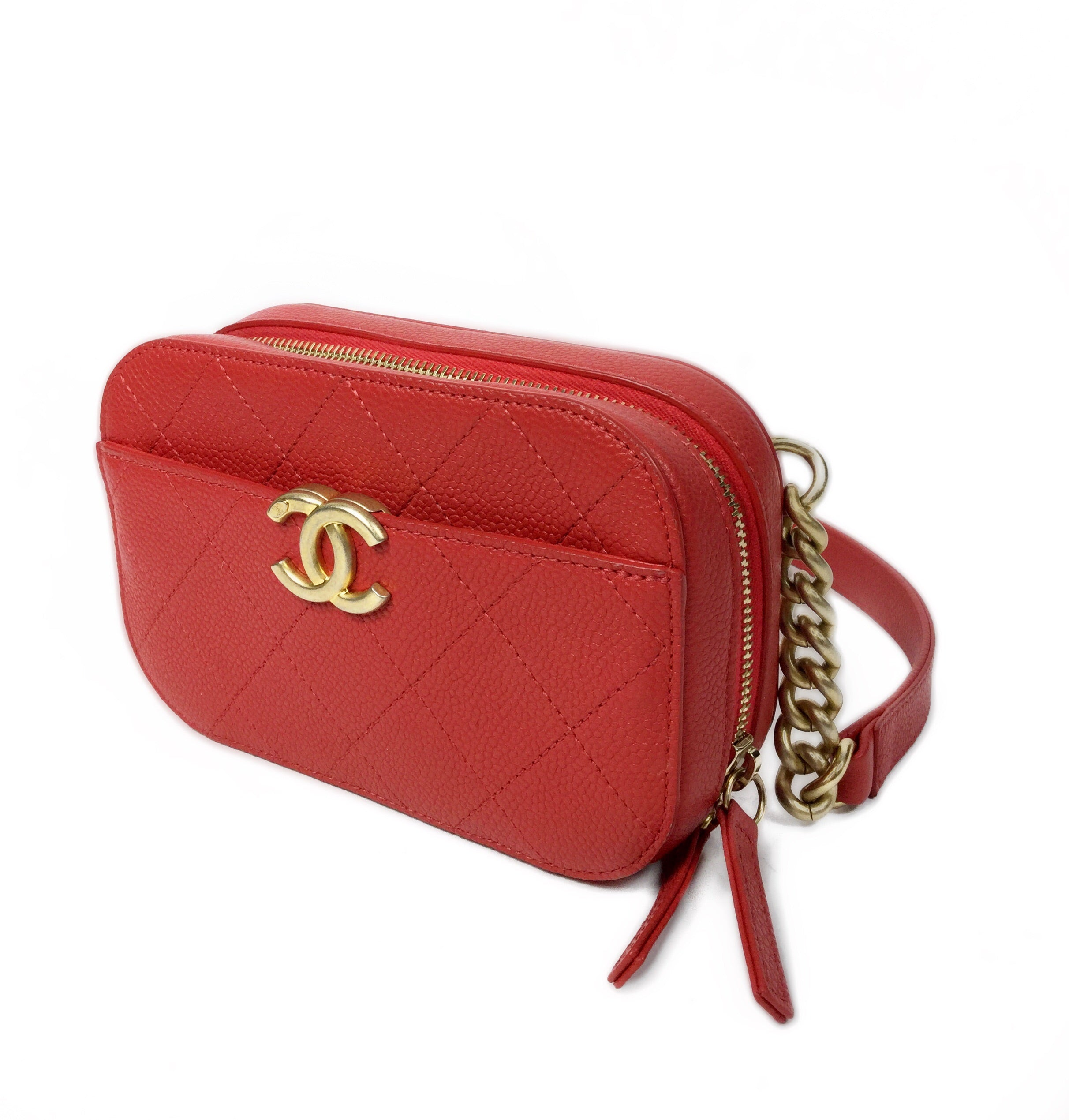 Chanel 2019 Calfskin Belt Bag