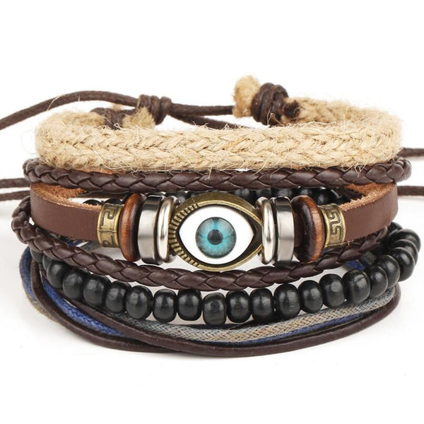 NOMAD Leather Bracelet Series