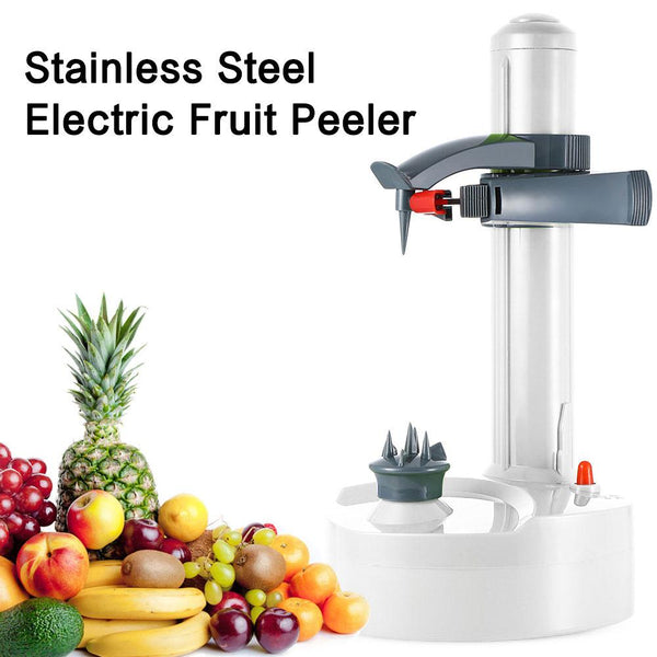 Stainless Steel Electric Fruit & Vegetable Peeler