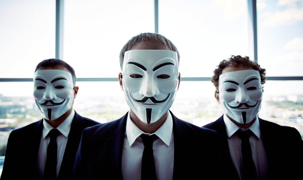 FREE Anonymous Guy Fawkes Mask - Only Pay For Shipping!
