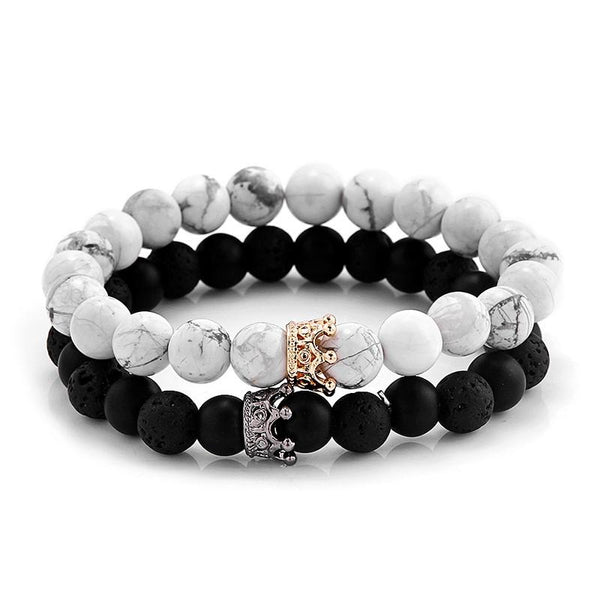 Crown Bracelet Set