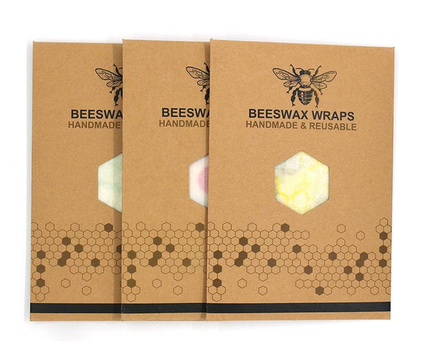 BEESWAX Reusable ECO Food Wrap Covers (3 pcs set)