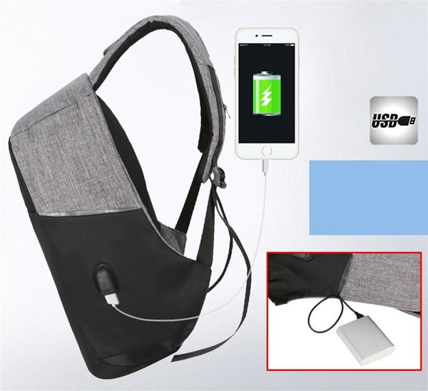 Bobby - Anti Theft Waterproof Backpack with USB Charger