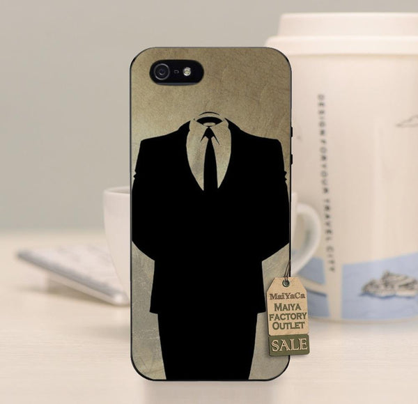 Guy Fawkes Anonymous Mask Phone Case Cover For iPhone