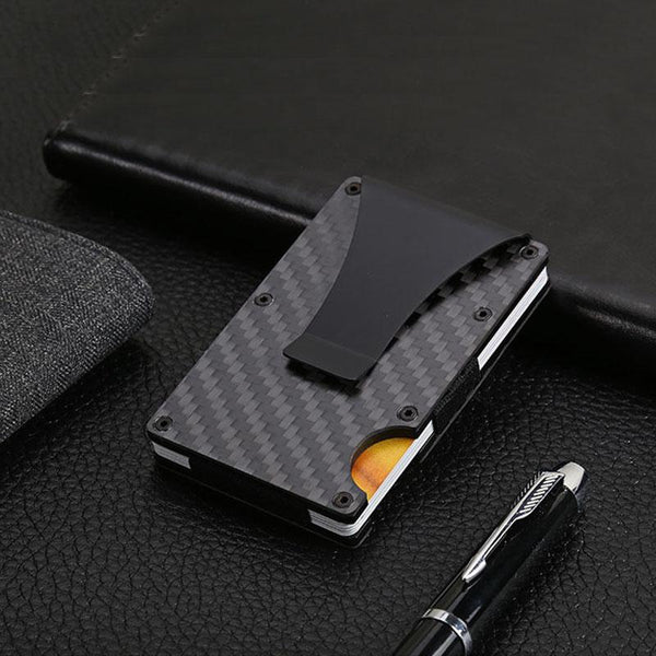 Carbon Fiber Anti-RFID Wallet