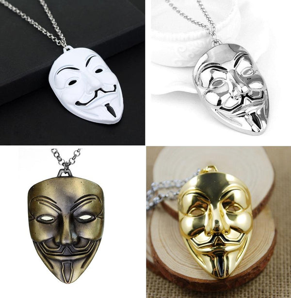 Anonymous Metal Necklace - 50% OFF