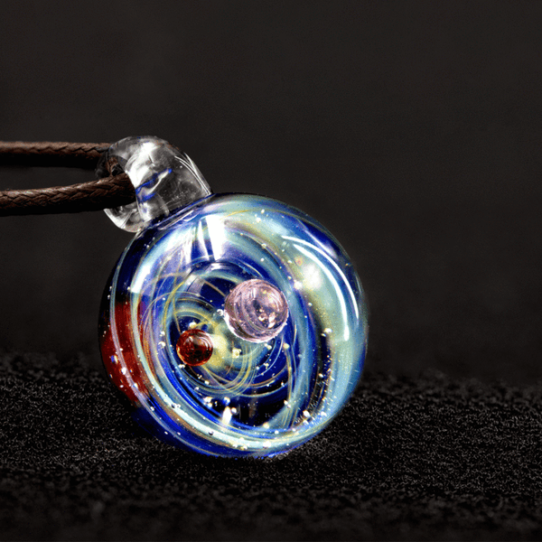 Galileo Glass Universe Necklace