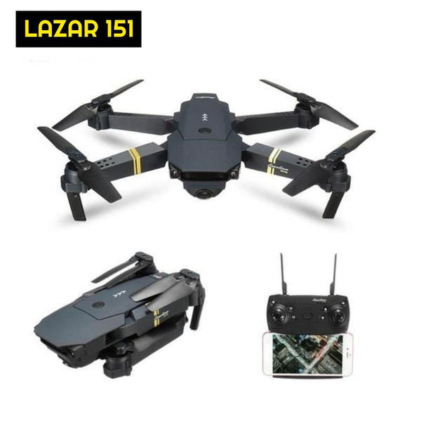 LAZAR 151 Foldable HD Drone With WiFi