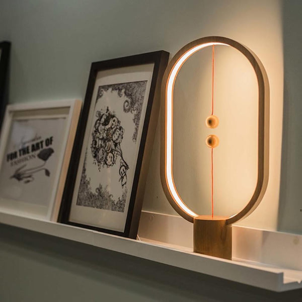 AMAZYBLE™ Wooden Magnetic Table Lamp