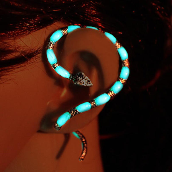 Snake Glow in the Dark Ear Cuff