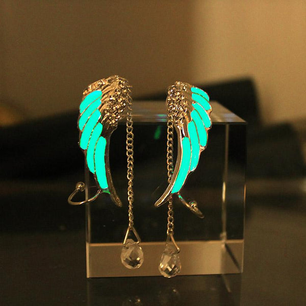 Wings Glow in the Dark Ear Cuffs
