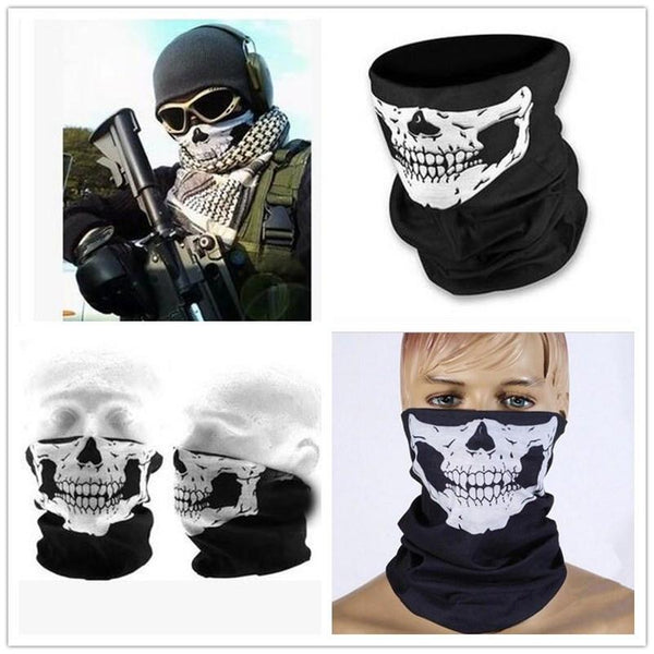 Multifunctional Unisex Skull Bandana - 20 DIFFERENT DESIGNS!