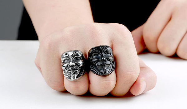 Anonymous Stainless Steel Ring