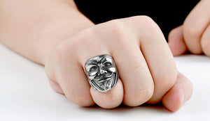 Anon Stainless Steel Ring - BUNDLE OFFER! 70% OFF