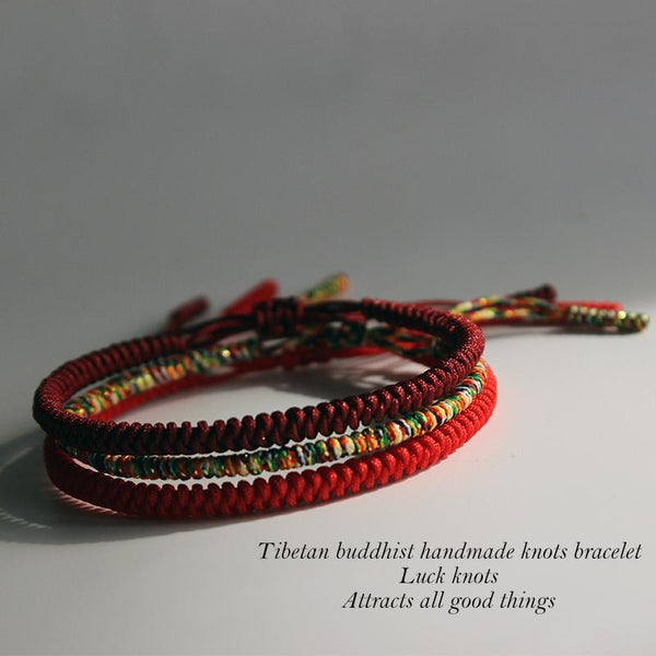 Handmade Tibetan Buddhist Good Luck Bracelet