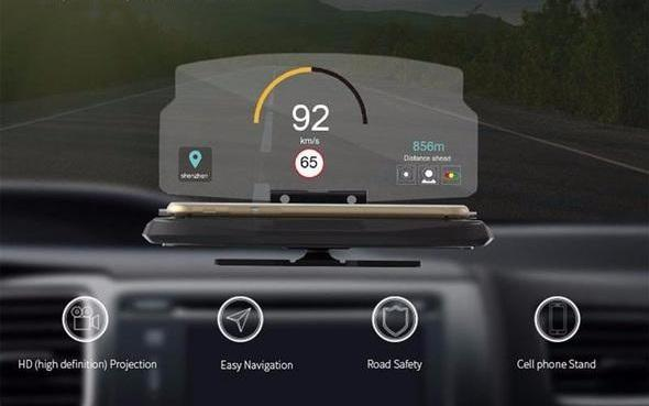 HUDWAY Head Up Display For Smartphones