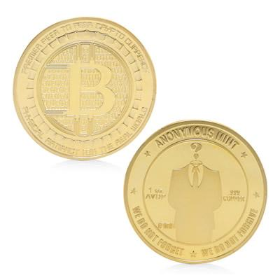 Anonymous Bitcoin Mint - Gold/Silver - 50 % OFF