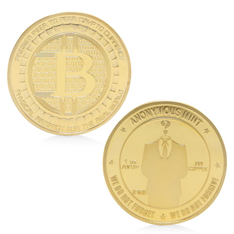 Anonymous Bitcoin Mint - Gold/Silver