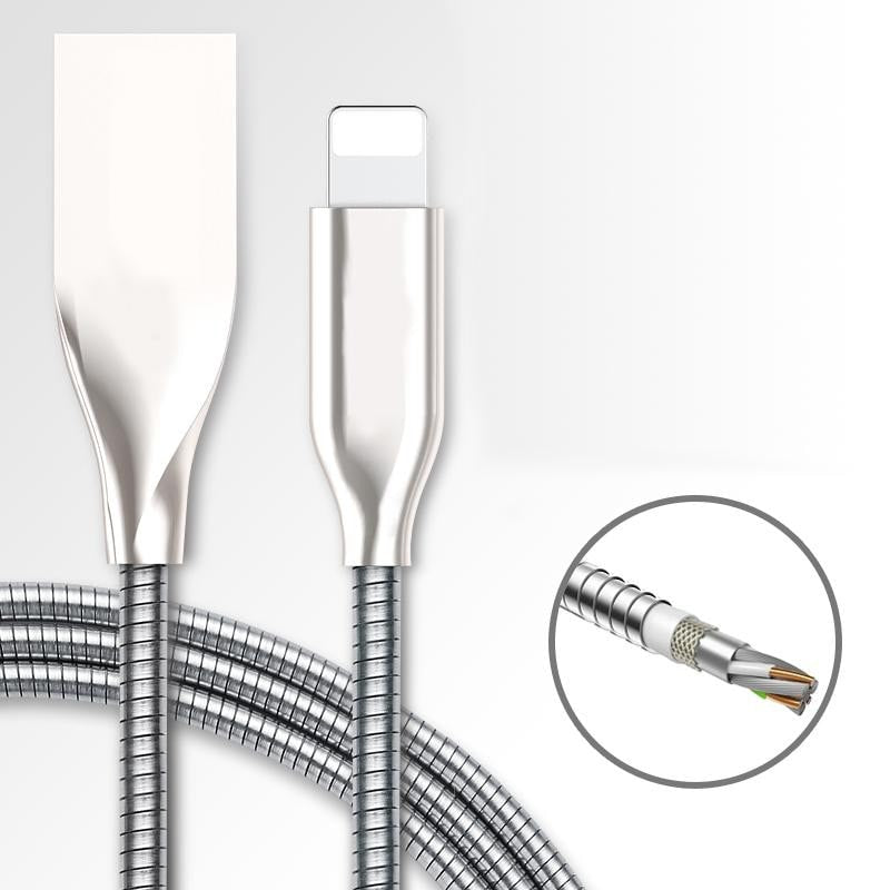 HALO Indestructable USB CHARGING CABLE - iPhone & Android