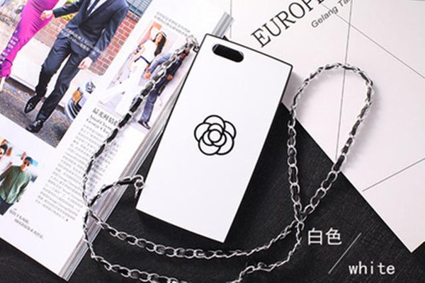 Crossbody iPhone Case with Flower