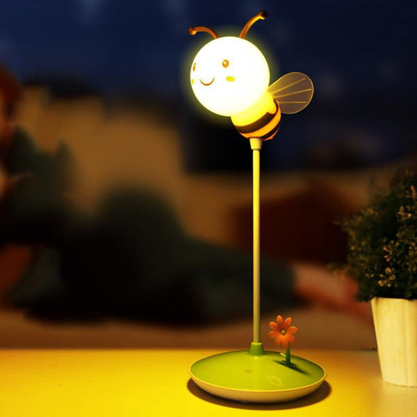 Touch-Controlled USB-Chargeable Bee Night Light