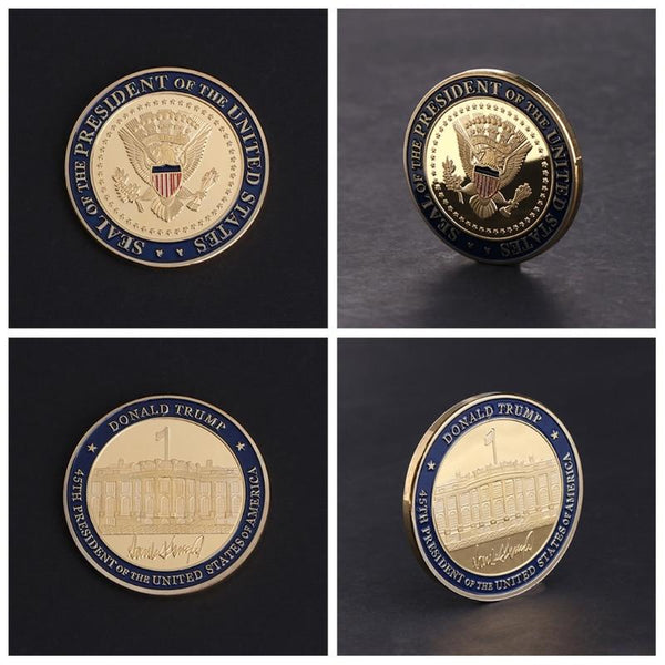 Donald J. Trump '45th President' Commemorative Coin