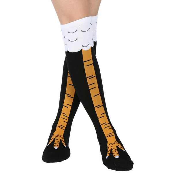Crazy Funny Chicken Socks (Unisex)