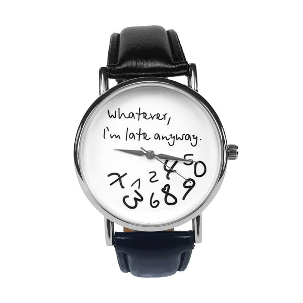'Whatever, I'm late anyway.' - The Watch For The Relaxed & Cool